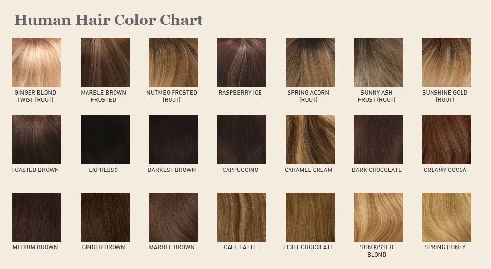 Louis Ferre Human Hair Color Chart Hair Amp Co